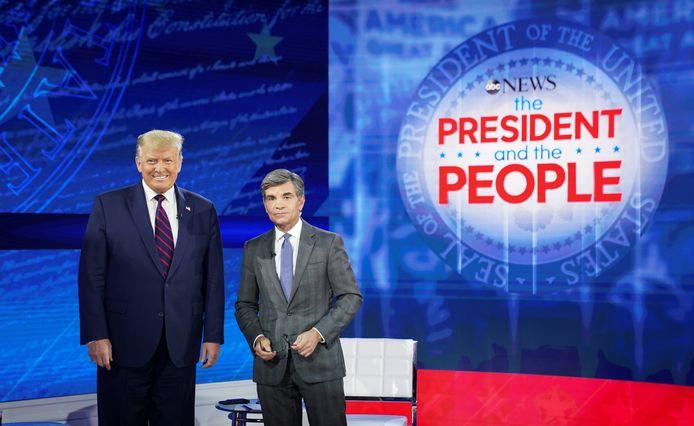 Donald Trump s'est prêté à l'exercice mardi, sur la chaîne ABC.