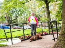 Sharon (40) blijft ondanks haar aandoening in beweging: 'Stilzitten maakt het erger'