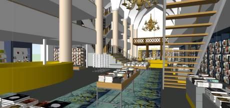 Waanders in de Broeren op de schop: meer ruimte voor boeken in Zwolse kerk