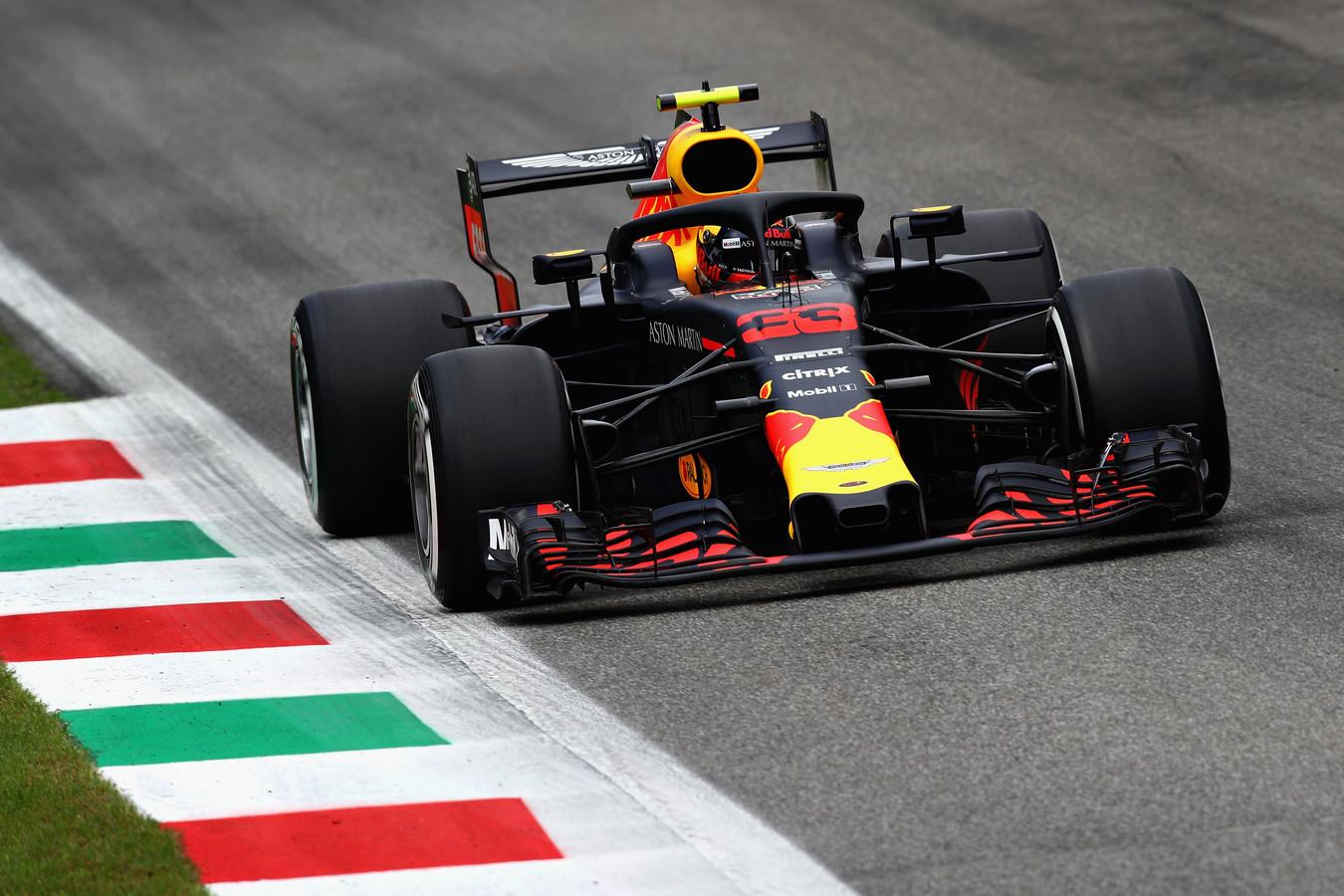 Verstappen in Monza.
