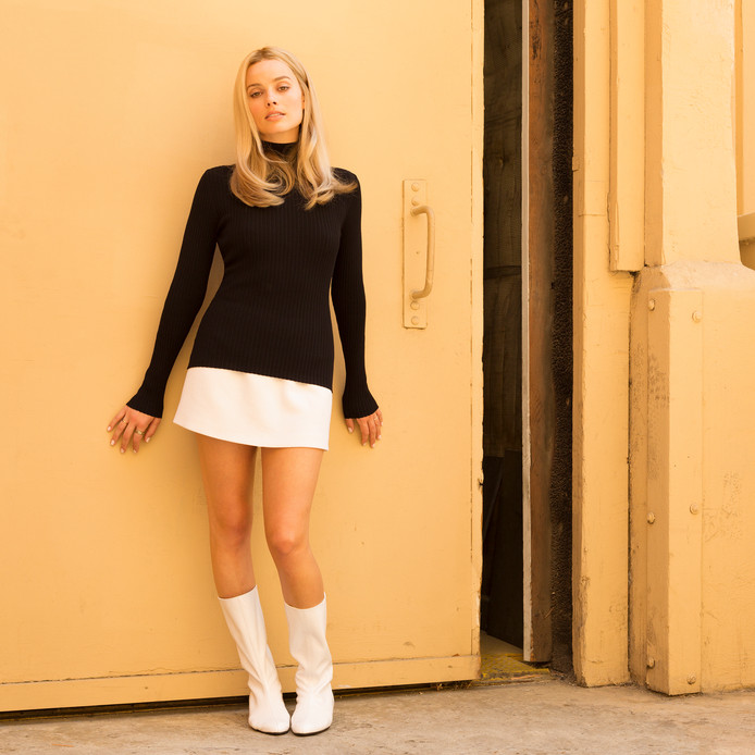 Margot Robbie als Sharon Tate