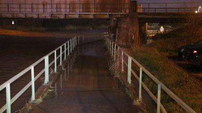Jaagpad aan Dender in Oudegem afgesloten wegens wateroverlast