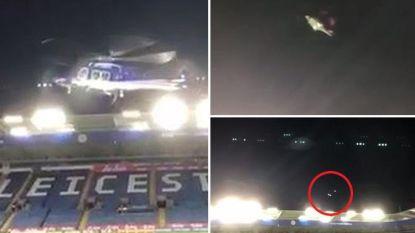 Beelden van vlak voor de helikoptercrash tonen hoe toestel van eigenaar Leicester en OH Leuven al boven King Power Stadium begon te tollen