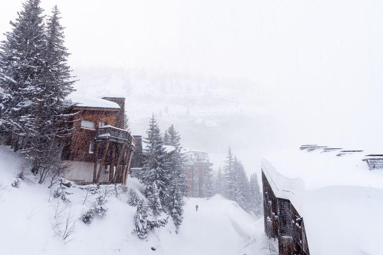 Avoriaz is een autovrij skidorp op 1800 meter. Beeld Katja Poelwijk