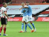 Uitgerekend Walker helpt City langs Sheffield United
