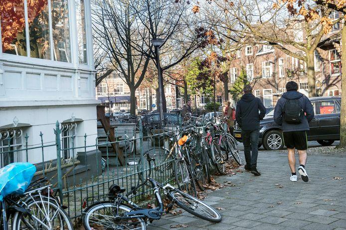 Een studentenhuis in Nijmegen. Archieffoto