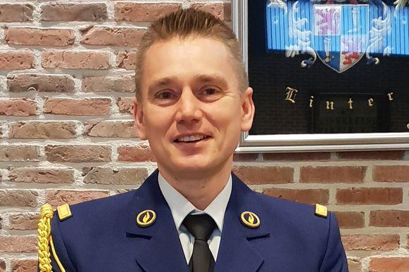 Korpschef van de pz Getevallei Stephan Gilis