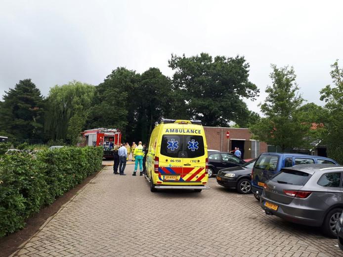 Verpleeghuis Antonia in Terborg is getroffen door een stroomstoring na brand.