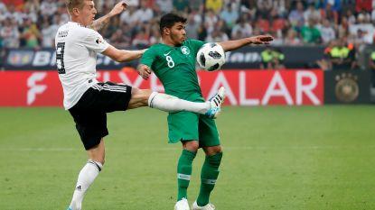 WK KORT 08/06: Duitsland heeft verrassend veel moeite met Saoedi-Arabië, Teodorczyk valt in bij Polen