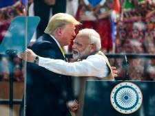 """""""Namaste Trump"""": meeting bouillant pour le président américain en Inde"""