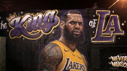 Basketbalster LeBron James praat voor het eerst na overstap naar LA Lakers