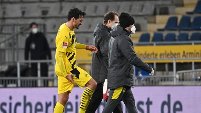 Ondanks zege trekt Dortmund met kopzorgen richting Brugge: Haaland en Hummels geblesseerd