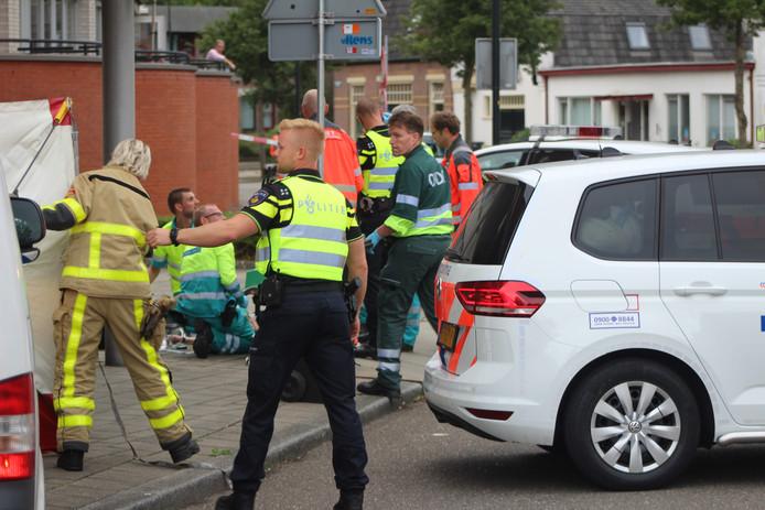Levenloos lichaam aangetroffen aan de Stoomwezenstraat in Apeldoorn.