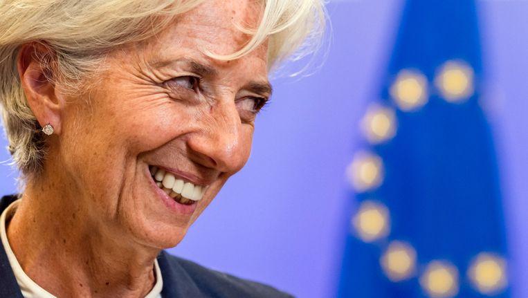 IMF-directrice Christine Lagarde. Beeld ap