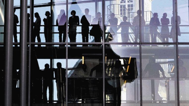 ze zegt dat de Europese Unie minder ambtenaren heeft dan een middelgrote stad in Nederland? (Vincent Jannink / ANP) Beeld