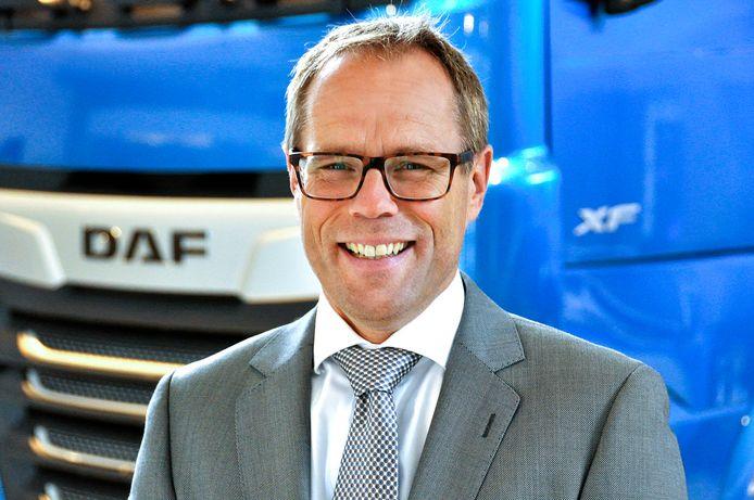 De nieuwe president-directeur van DAF Harry Wolters.