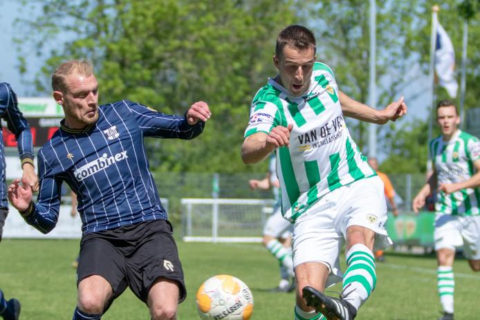Thijs van den Dries, de maker van de 1-0 tegen SHO.