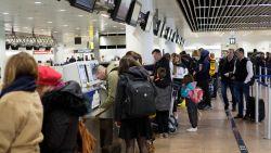 Wachtrijen bij vertrekkende vluchten door stiptheidsacties Brussels Airport