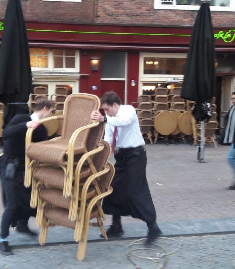 Café aan de Neude per direct dicht vanwege besmetting