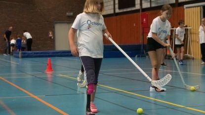Sportdag op blades: Kinderen met arm- of beenprothese leven zich uit op sportdag Octopus in Wetteren