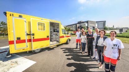 Westhoek beschikt voortaan over collocatieambulance: Jan Yperman Ziekenhuis stelt ziekenwagen ter beschikking, brandweer levert personeel aan