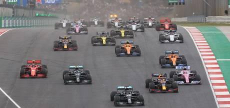 Uitslagen, alle klassementen en de Formule 1-kalender