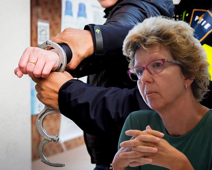 Irma van der Sloot van GroenLinks Kampen werd lange tijd bedreigd.