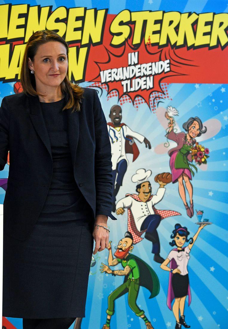 Open Vld-voorzitter Gwendolyn Rutten is ervan overtuigd dat burgemeester Vanden Bussche correct omgaat met de asielzoekers in zijn gemeente.