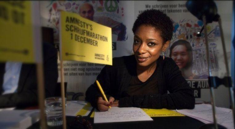 Ook in Zoutleeuw kan je meedoen aan de schrijfmarathon.