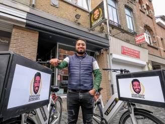 Help de Horeca: Kebabzaak levert maaltijden aan huis met de fiets