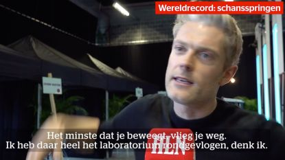 Maarten Vangramberen ontleedt hoe je meer dan 250 meter ver kan springen van een skischans