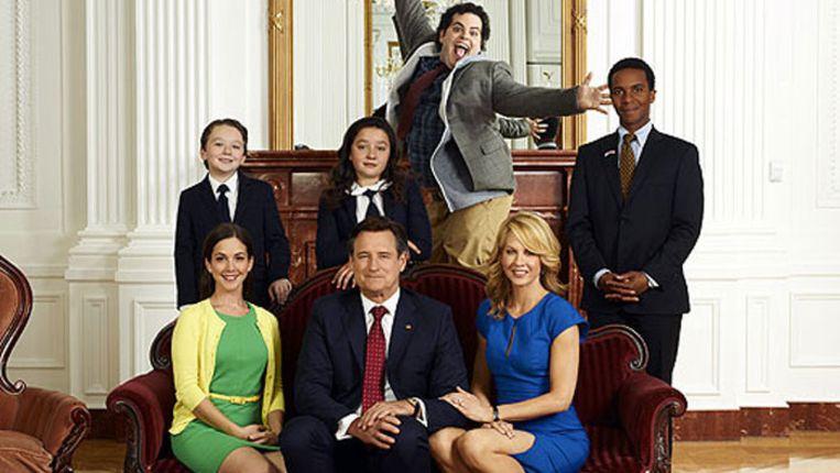 Castfoto van 1600 Penn Beeld NBC