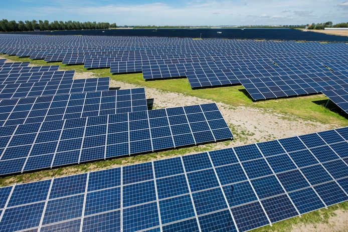 Solarpark Groene Hoek vlakbij Schiphol.