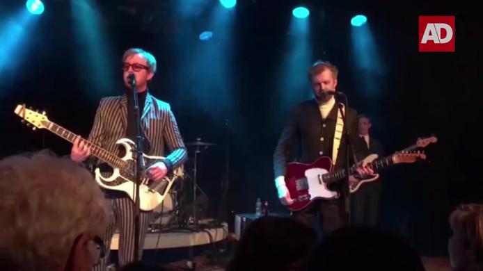 The Kik tijdens het optreden in Middelburg
