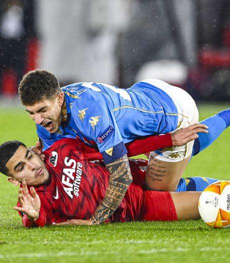 AZ heeft Europese overwintering in eigen hand na gelijkspel tegen Napoli