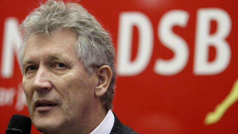 Dirk Scheringa, oprichter en voormalig topman van de in 2009 omgevallen DSB Bank Beeld EPA