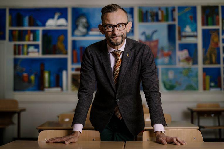 Krzysztof Dobrowolski-Onclin van het COC.  Beeld Marc Driessen