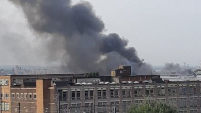Brand in stelplaats MIVB in Anderlecht: geen gevolgen voor dienstregeling