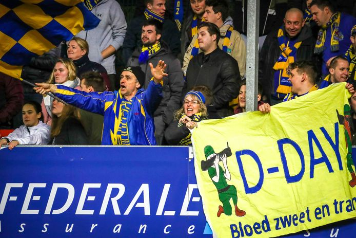 Fans van Waasland-Beveren.