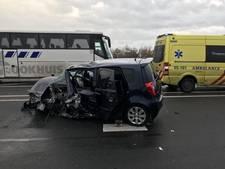 Twee gewonden bij botsing op rondweg in Oldenzaal