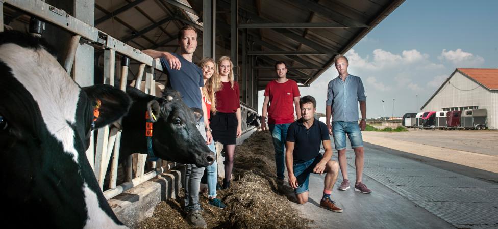 Ontmoet de nieuwe, enthousiaste generatie boeren: 'Dat boerenbloed, dat heb je gewoon'