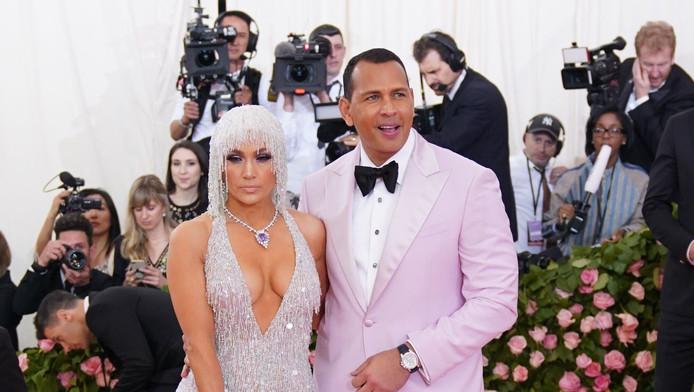 Jennifer Lopez et Alex Rodriguez au dernier Gala du MET, à New York.