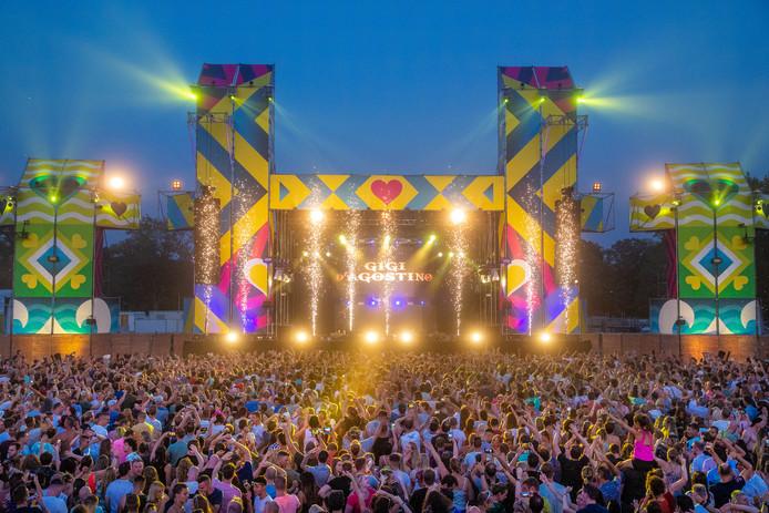 24-08-2019:  We Love the 90s in het Goffertpark in NIjmegen tijdens het optreden van Gigi D'Agostino.