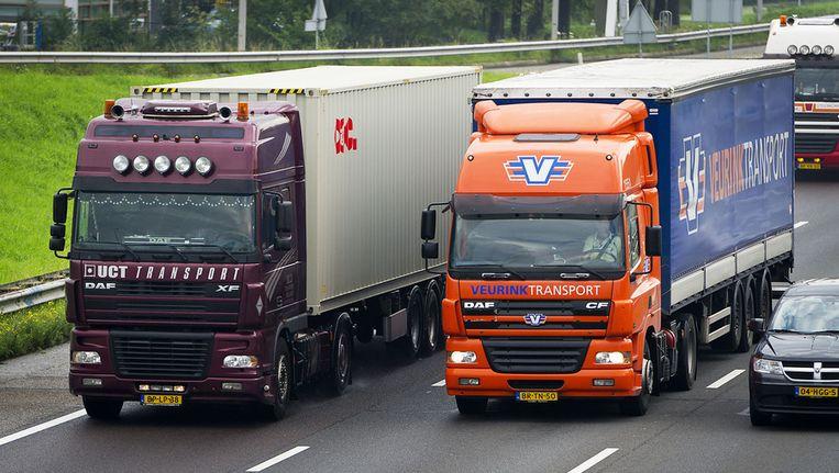 Een Chinees bedrijf heeft het Nederlandse TIP gekocht, met 48.000 trailers de grootste vrachtwagenverhuurder van Europa. Beeld anp