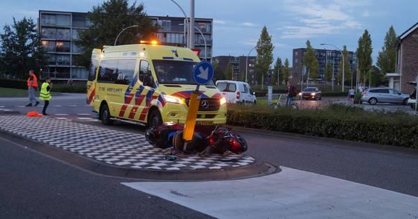 Scooterrijdster gewond bij aanrijding in Drunen.
