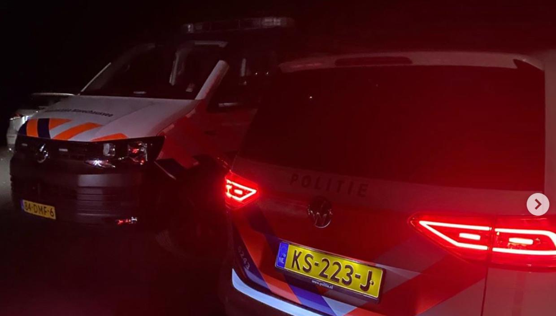 De politie en de marechaussee maakten begin juli een einde aan een illegaal feest in het Amsterdamse Bos.