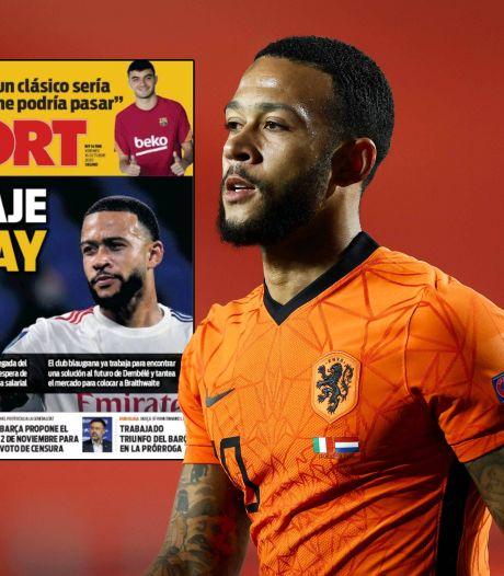 Spaanse media pakken uit: 'Memphis in januari zeker naar Barça, Real gaat voor Mbappé en Camavinga'