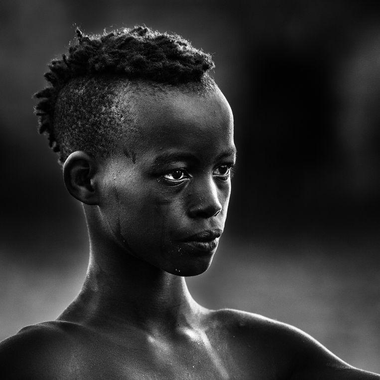Het winnende beeld van fotograaf Filip Santens.