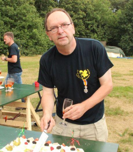 Boegbeeld van Scouting Heesch overleden: met tomeloze inzet deed Geert Eijsvogels (59) alles voor de club