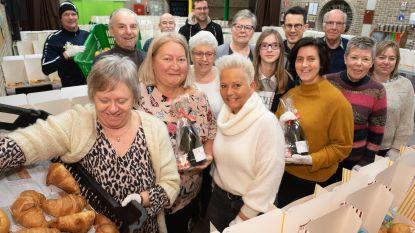 Vriendenkring van Gemeentelijke Basisschool 'De Bosrank' Zingem leverde bijna 800 valentijnsontbijten aan huis